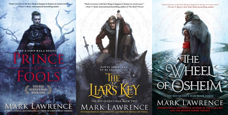 The Red Queen's War Series Chapterized - Mark Lawrence